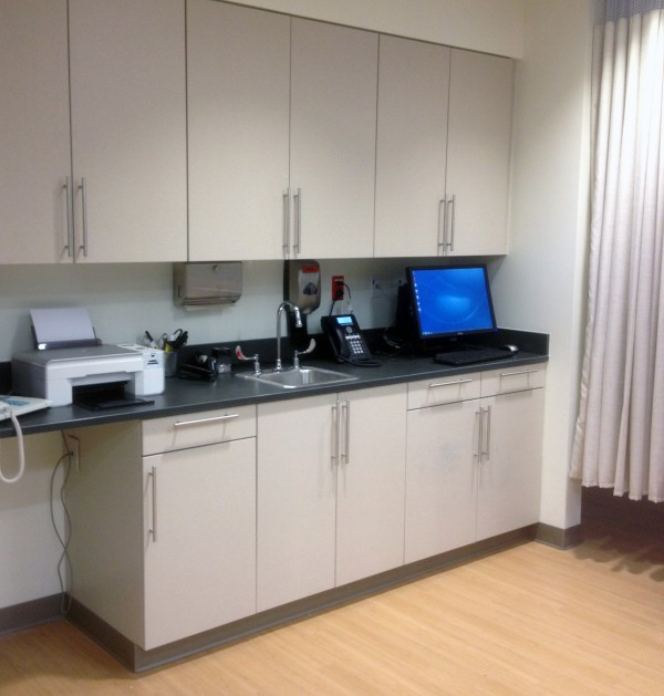 endoscopy exam area