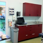 pediatric exam room